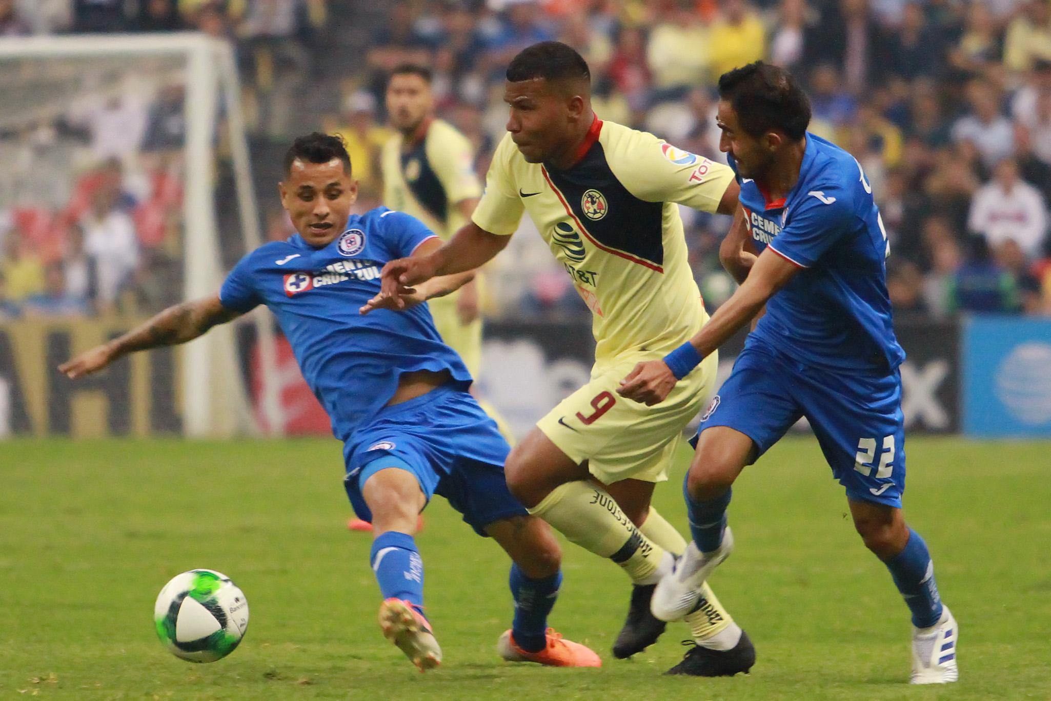 América vence 3-1 a Cruz Azul y va firme a semifinales