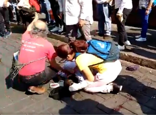 Ataque a manifestantes