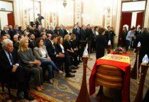 España se despide de dirigente