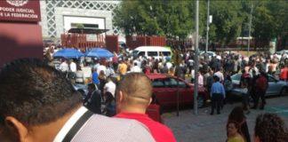 Evacuan Palacio de Justicia