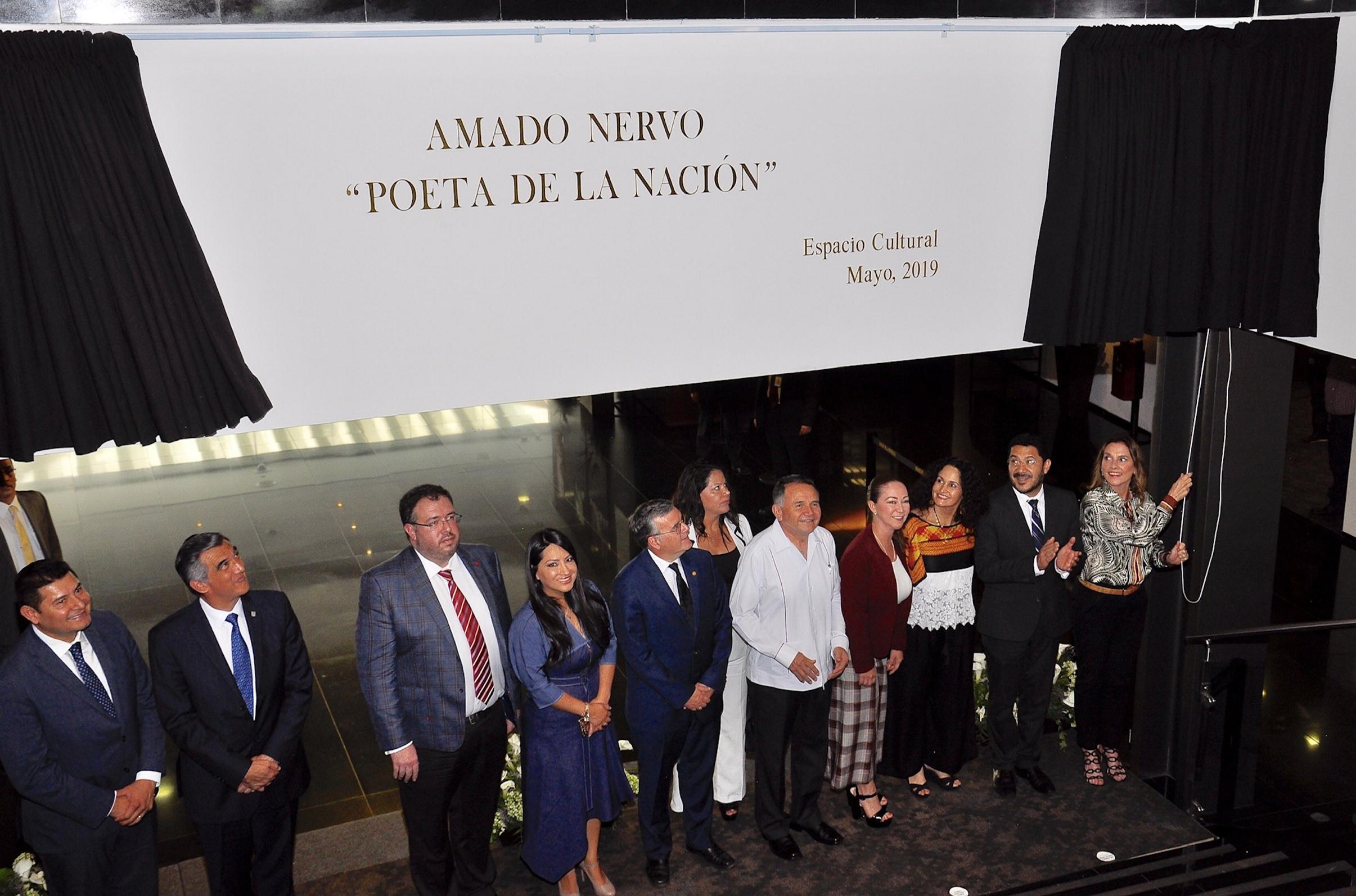Senado realiza evento Amado Nervo Poeta de la Nación