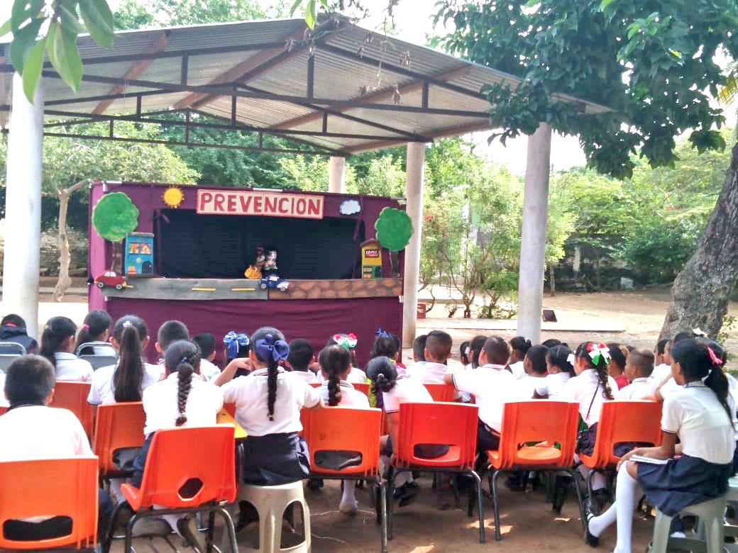 En el municipio de Santiago Ixcuintla CONTINÚA CON CAMPAÑAS DE PREVENCIÓN AL DELITO - Matutino Grafico