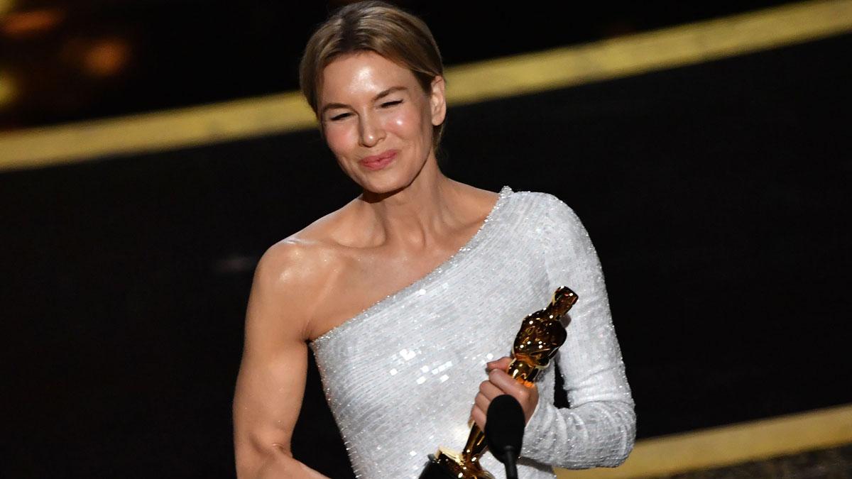 Renée Zellweger culmina su regreso con un Oscar
