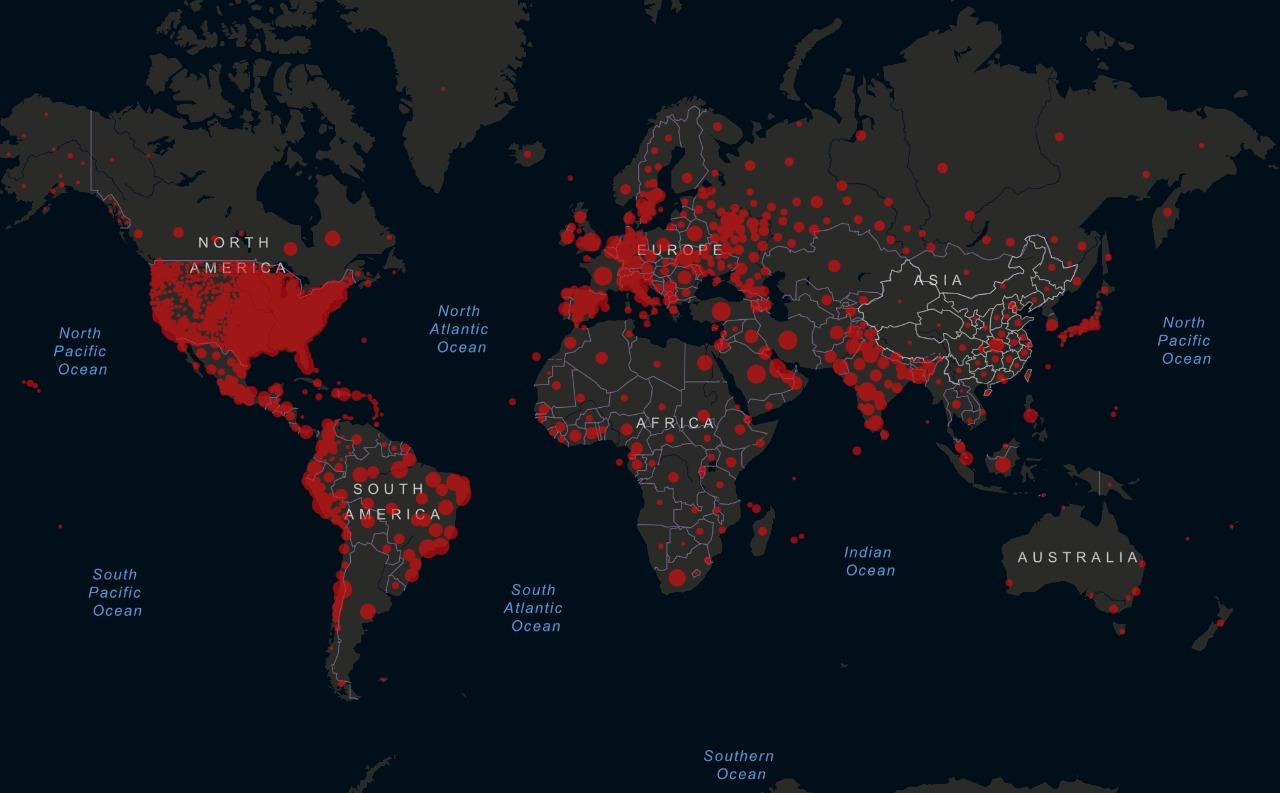 Muertos por coronavirus en el mundo ya son más de medio millón